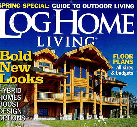 Blue Heron Log Home Living
