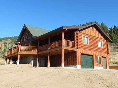 Montana Custom Log Home Builder